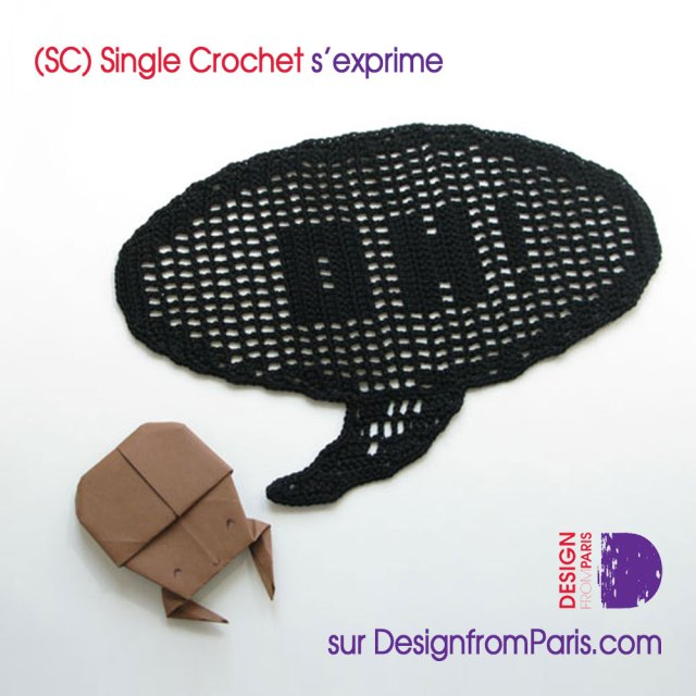 (SC) Single crochet s'exprime sur Design from Paris