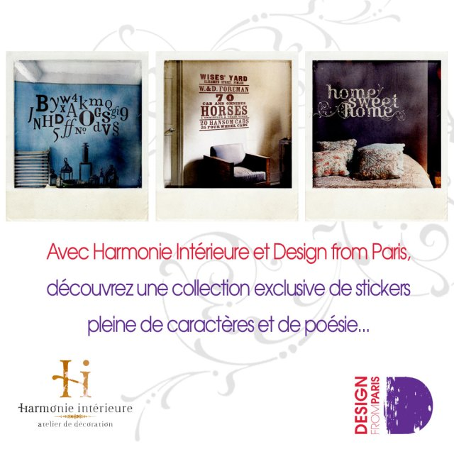 Harmonie Interieure sur Design from Paris