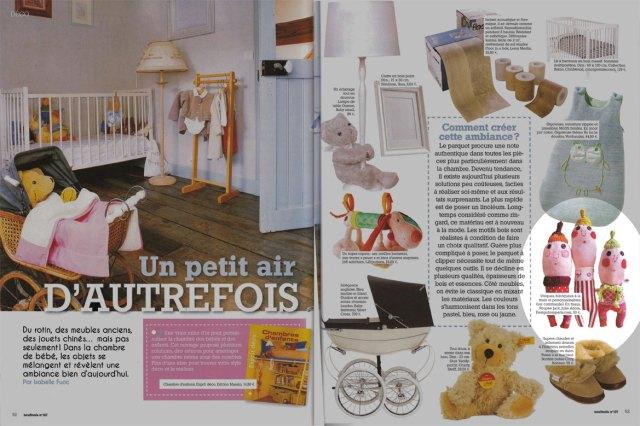 Julie Adore dans le magazine 9 mois