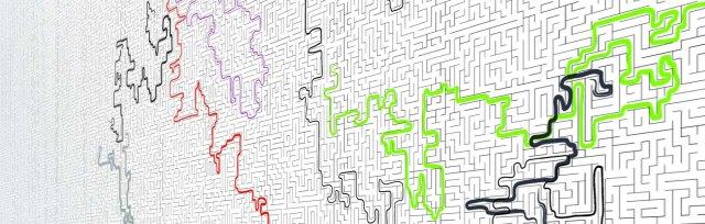 5.5.Designers (pour Lutèce), Wallpapers Games. Labyrinthe, 2006 © 5.5 Designers