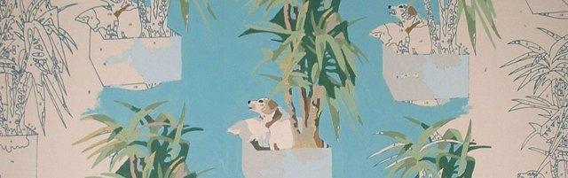 Jenny Wilkinson, Tilly Wallpaper-By-Numbers, 2003, © Jenny Wilkinson