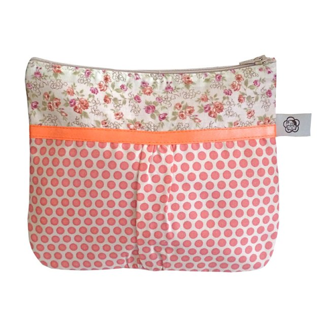 Trousse Fronces Rose Sophistikate