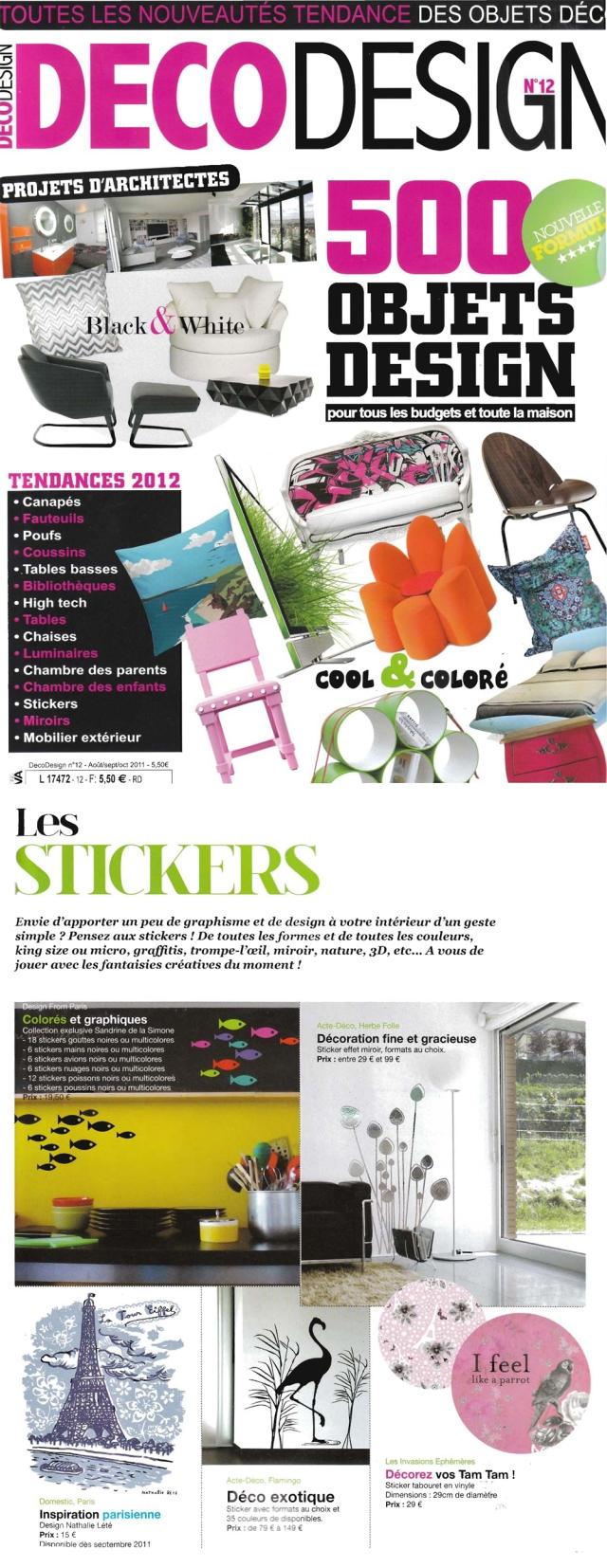 Magasine Deco Design Septembre 2011