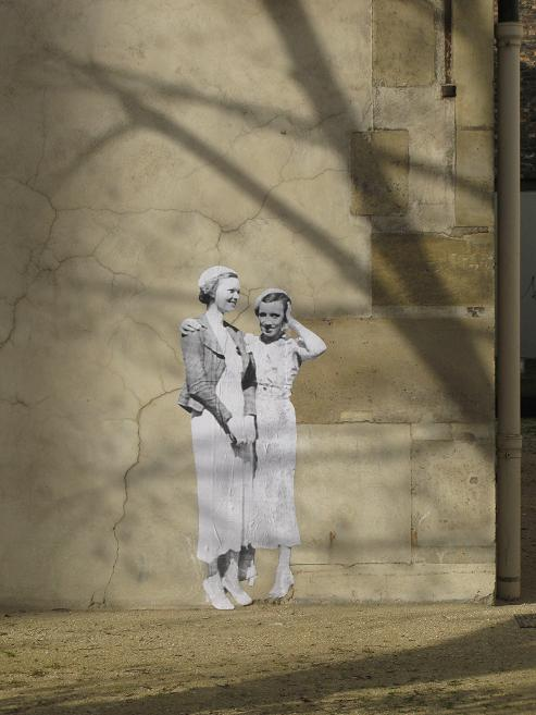 Léo et Pipo - Street Art