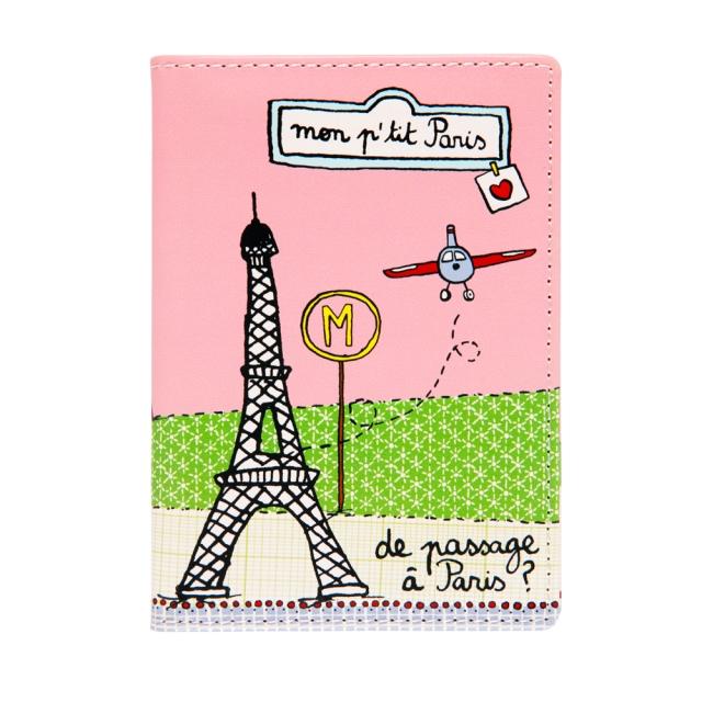 Porte-passeport - Mon p'tit Paris  Par Filf