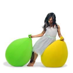 Sitting Baloon by Florence Jaffrain - Jaune de YouNow - Florence Jaffrain : 149.05€ sur DesignfromParis.com