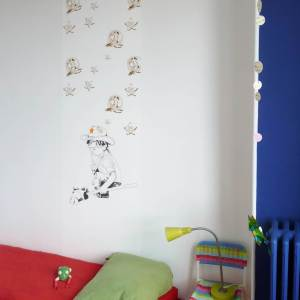 e cowboy Papier peint enfant - The lonesome cowboy  La Belette Rose : 60.05 € sur DesignfromParis.com