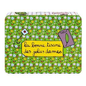 Boîte à Tisane Jolies dames sur Design from Paris