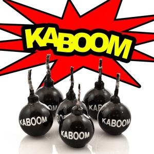 Bougies - Kaboom  The Monster Factory : 10 € sur DesignfromParis.com