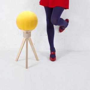 Tabouret Dandelion - Jaune sur Design from Paris