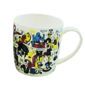 Mug porcelaine Jon Burgerman - Edition Limitée sur www.designfromparis.com