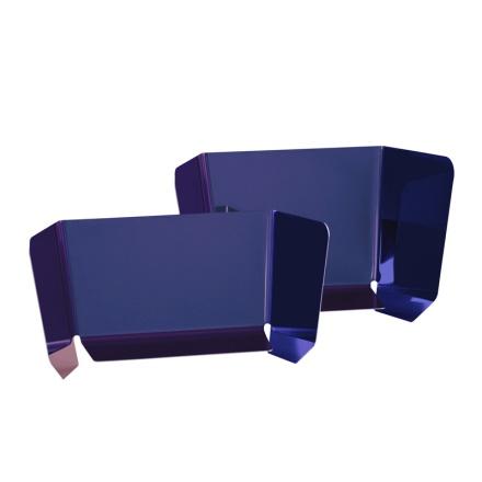 Grand miroir design Dorian - Triptyque Bleu  Pulpo : 360.00€ sur DesignfromParis.com