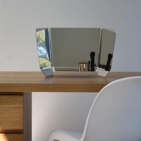 Grand miroir design Dorian - Triptyque Argent Pulpo : 320.00€ sur DesignfromParis.com