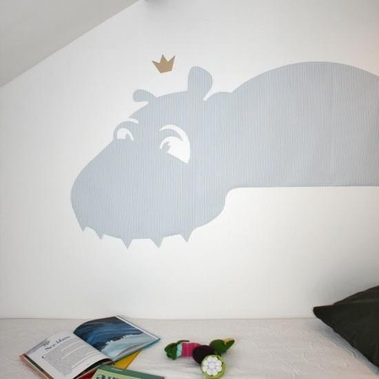 Hippopotame  Daniel Graphik : 45 € sur DesignfromParis.com