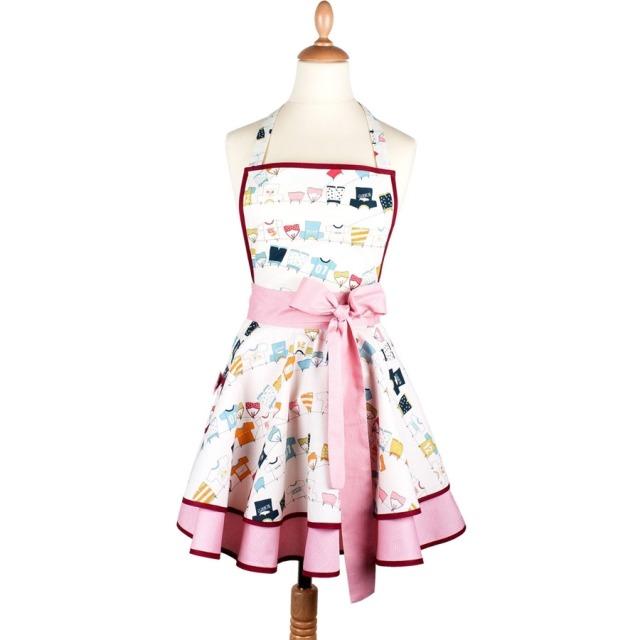 Tablier femme vintage Dans le vent  Madame Choup : 65 € sur DesignfromParis.com