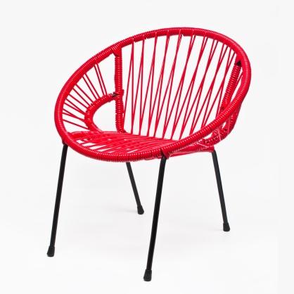 fauteuil-tica-scoubidou-rouge