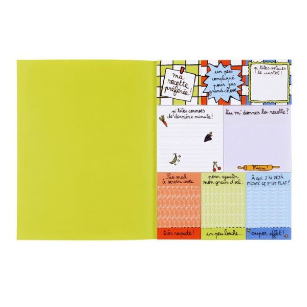 Carnet notes adhésives - Astuces de cuistot : 8.80 € de chez Filf