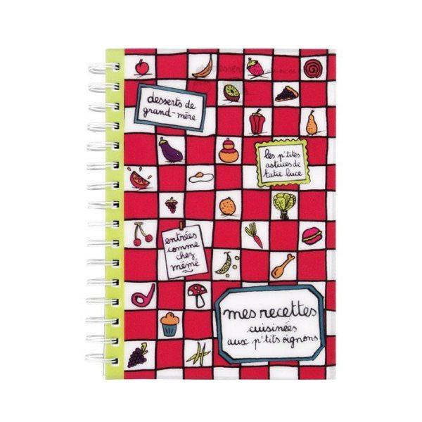 Cahier de recettes - Aux p'tits oignons : 6.50 € de chez Filf