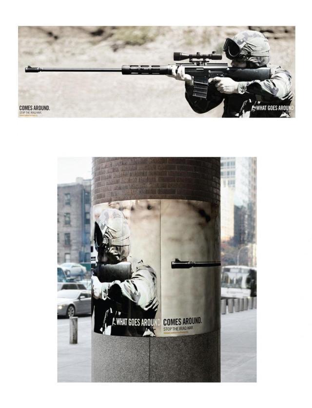 On récolte ce que l'on sème : Arrêtez la guerre en Irak