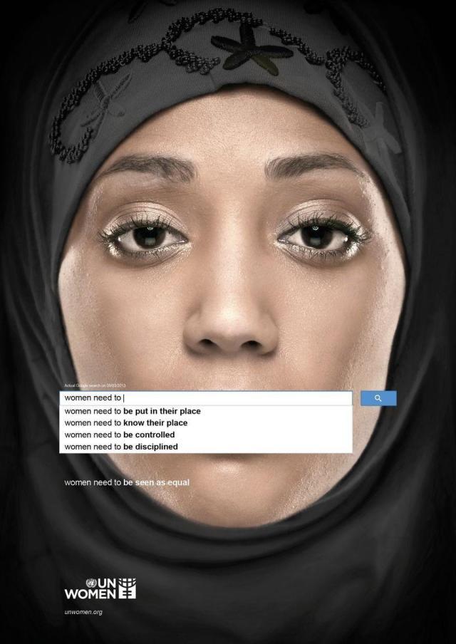 Droits de la femme dans le monde par Unwomen