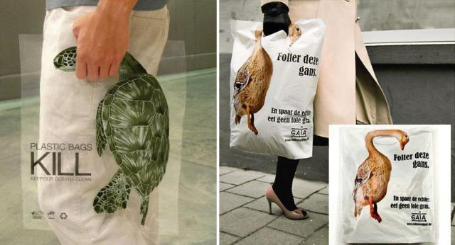 ction mondiale dans l'intêret des animaux : les sacs plastiques tuent