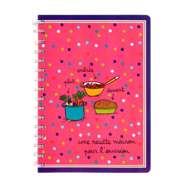 Cahier de cuisine - Une recette maison pour l'occasion : 6.50 € de chez  Filf