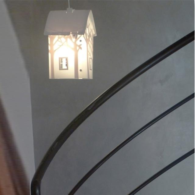 Lampe de chevet ou lampe à poser LED Maison - Blanc CMB : 75 € sur DesignfromParis.com