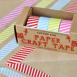 Pack de 4 masking tape - Rayures : 6.50 sur CmaChambre.fr