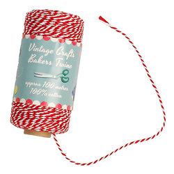 Ficelle bicolore rouge et blanche Bakers Twine : 7.50 €