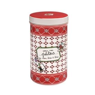 un pot rouge pour les pâtes